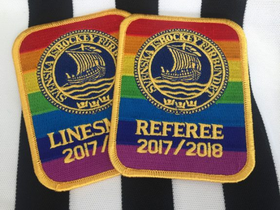 Why Sweden's ice hockey referees will wear the rainbow flag this season