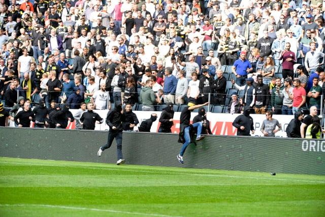 Stockholm derby match marred by multiple violent riots