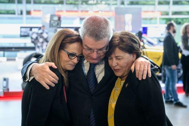 Emotions run high at Munich Olympic massacre memorial opening
