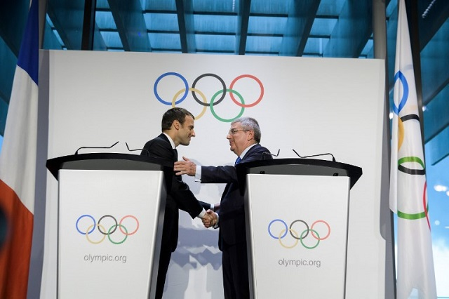 Paris 2024 Olympics: A 'victory for France', says Macron