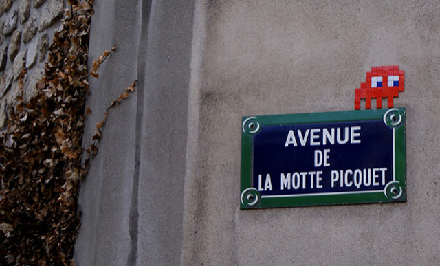 Two men charged over Paris 'Space Invader' mosaic thefts