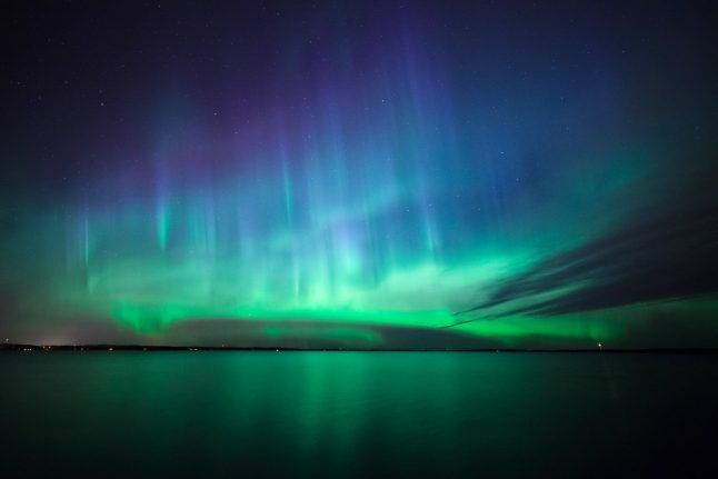 Northern Lights could be visible over Denmark this weekend