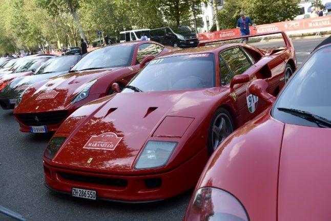 Mythical, magic, unique: Ferrari turns 70 in style