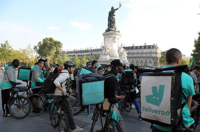 France: Deliveroo introduces free healthcare for bike riders injured on the job