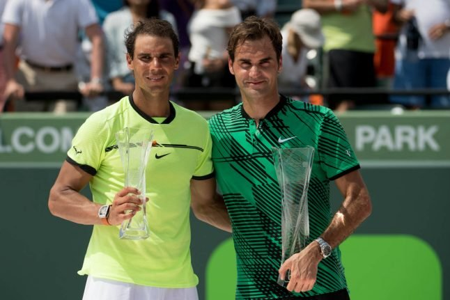 Federer looks to bond with Nadal, maybe face him at US Open