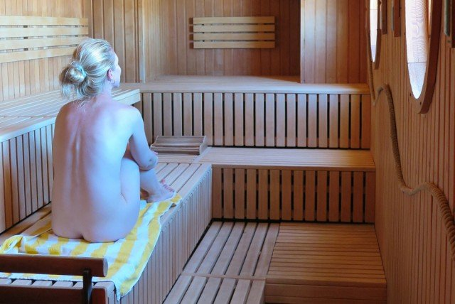 How a German sauna taught a prudish American to relax at the sight of naked flesh