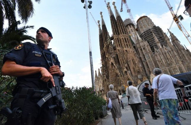Barcelona's Sagrada Familia evacuated in 'false alarm' bomb scare