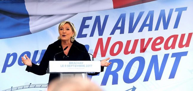 France's Le Pen 'determined' to revitalise far right