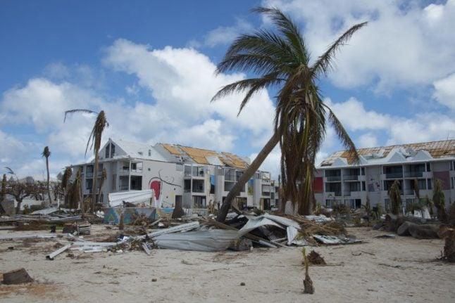 France's hurricane-hit St Martin on guard for health threats