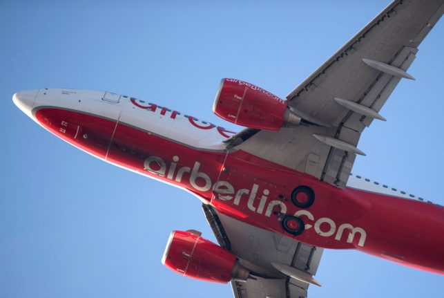 German investor bids €500 million to buy up Air Berlin