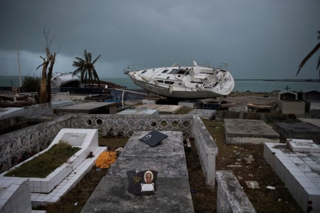 Ravaged French Caribbean islands brace for new hurricane