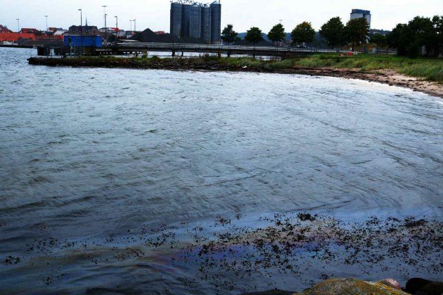 Danish police to investigate oil leak