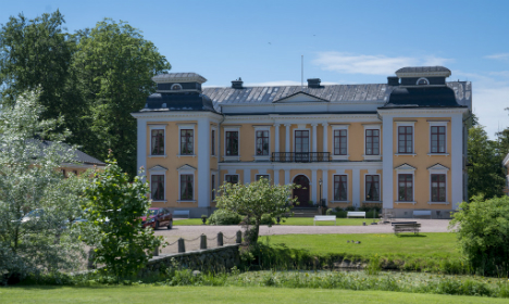 In pictures: This Swedish palace is for sale, moat and all
