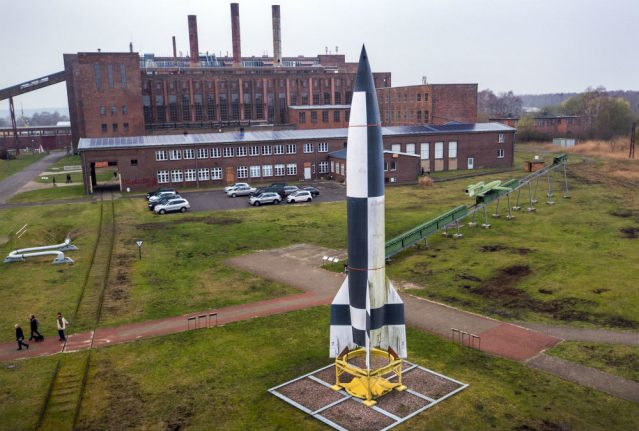 How the north German home of Nazis' V2 rocket is embracing the hard right