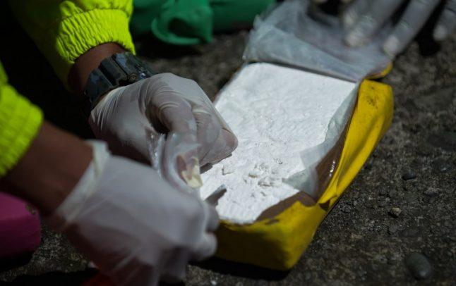 Italian police bust Sicilian-Colombian cocaine racket