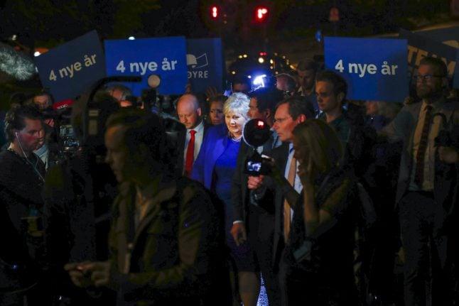As it happened: Erna Solberg reelected as Norwegian prime minister