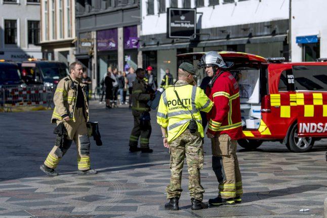 Flagship Copenhagen furniture store suffers fire after rooftop event
