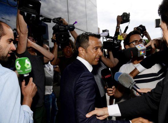 Mendes summoned over Ronaldo tax evasion case