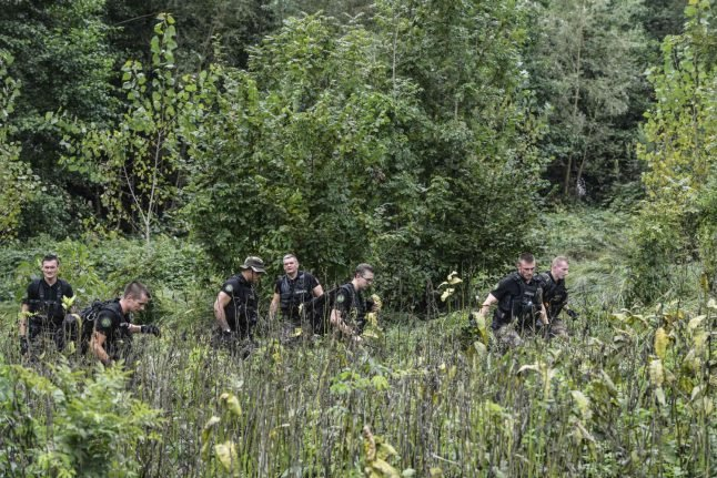 Two suspects freed over French girl's wedding disappearance