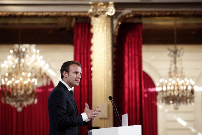 Macron urges lifting of Qatar embargo