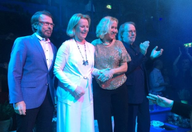 Abba plot virtual reality 'reunion' tour