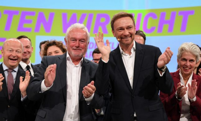 Pro-business FDP set to bounce back in election, seeking to stall EU reform
