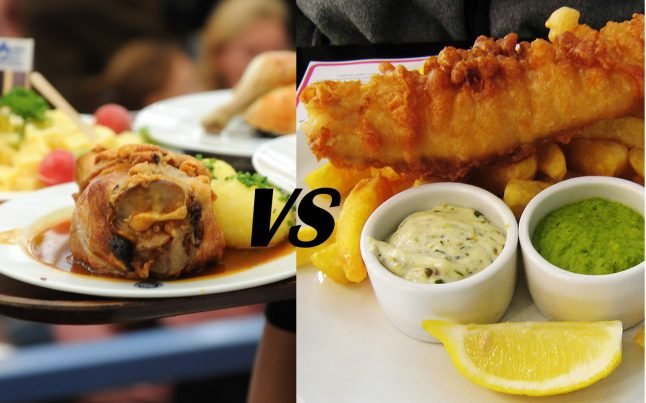 German vs British food – which is best?