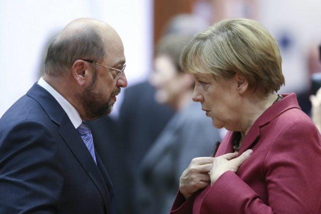 Last-chance saloon for Merkel rival Schulz at TV showdown