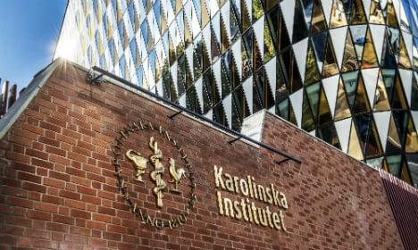 Sweden's top university Karolinska tumbles in global ranking