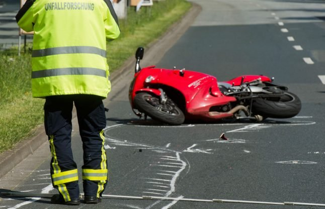 Police search for cyclist who filmed dying biker instead of helping him