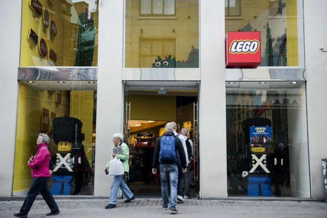 Lego to slash eight percent of workforce after sales drop in US, Europe