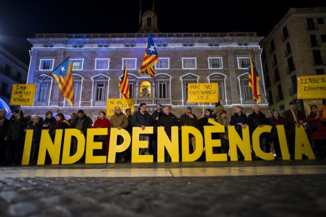 Madrid toughens Catalonia stance as separatists push on