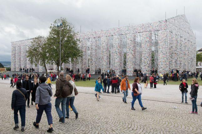 Famed German art show on brink of bankruptcy after running up millions in debts