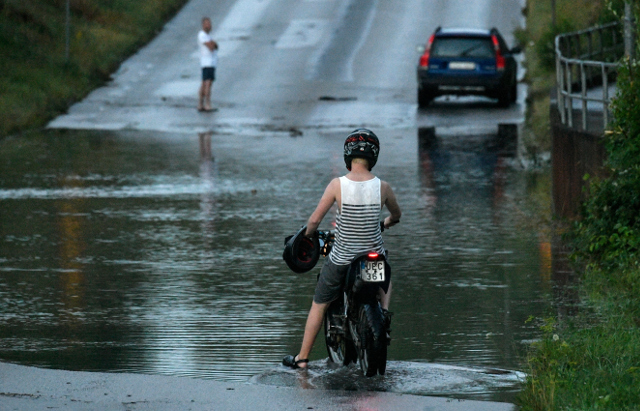 This is how much it rained in Sweden in August