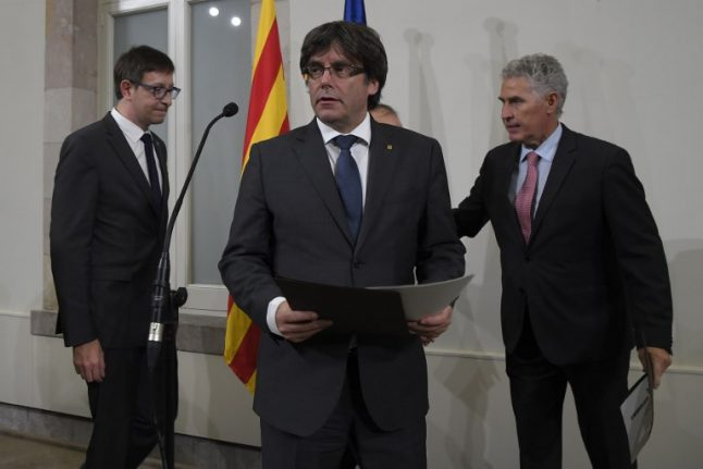 Catalonia launches Oct 1st independence challenge against Spain