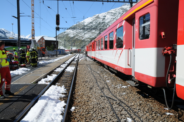 Schoolchildren among those injured in Andermatt, none critically