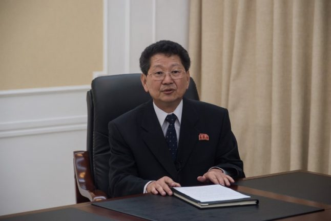 North Korea official blasts France over nuclear criticism
