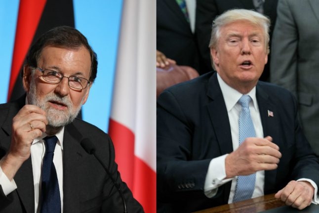 Trump to host Spanish PM Rajoy at White House