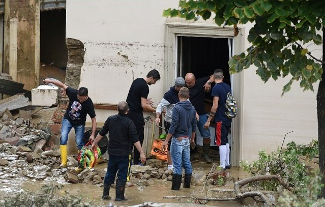 Family killed in Livorno as storms cause flood chaos across Italy