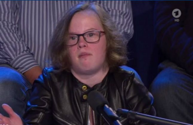 Teen with Down Syndrome puts Merkel on spot over late abortions