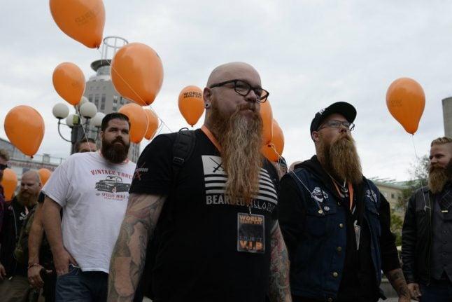 Sweden celebrates World Beard Day