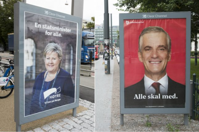 Norway heads into climax of 'election thriller'