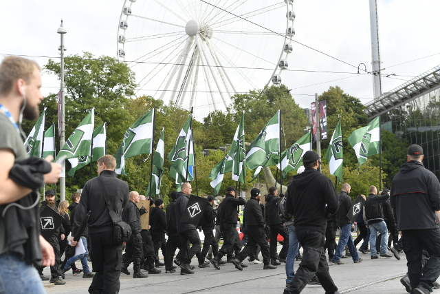 Police defend decision to let neo-Nazis march through Gothenburg