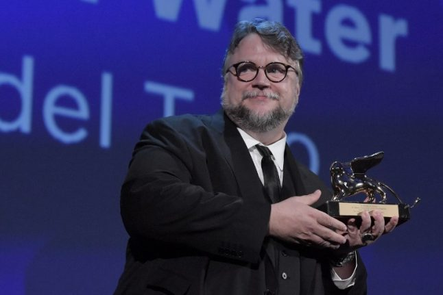 'The Shape of Water' by Mexico's Guillermo Del Toro wins Venice Golden Lion