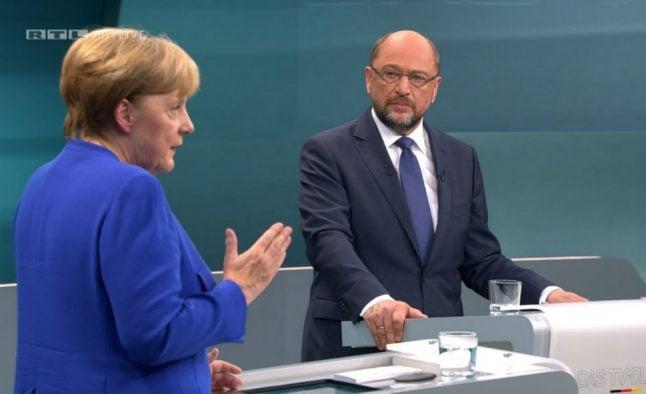 Merkel ahead as rival Schulz fails to land sucker punch in TV showdown