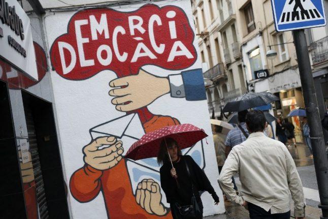Worried Catalan employers make referendum back-up plans