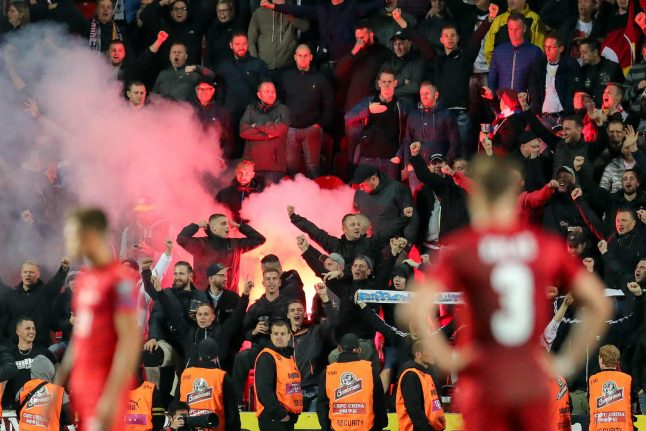 Germany football stars slam 'fans' for Nazi chants