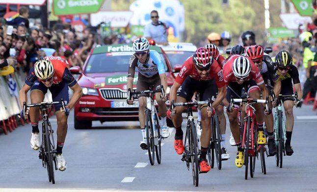 Spanish cyclist dies from crash near Vuelta finale