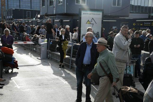 Police evacuate Copenhagen airport terminal after 'incident'