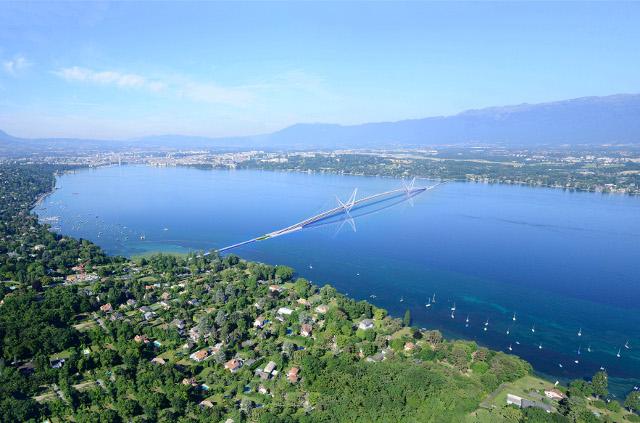 Geneva opts for bridge over lake instead of tunnel